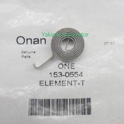Onan generator auto choke element 153-0554