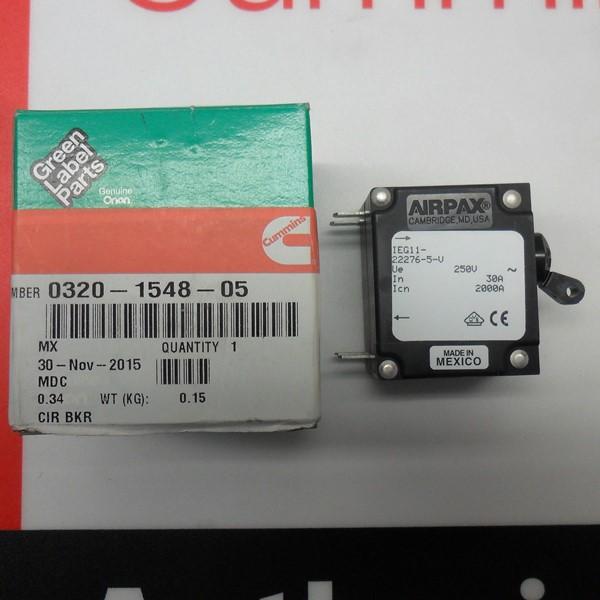 Onan 30 amp Breaker 320-1548-05