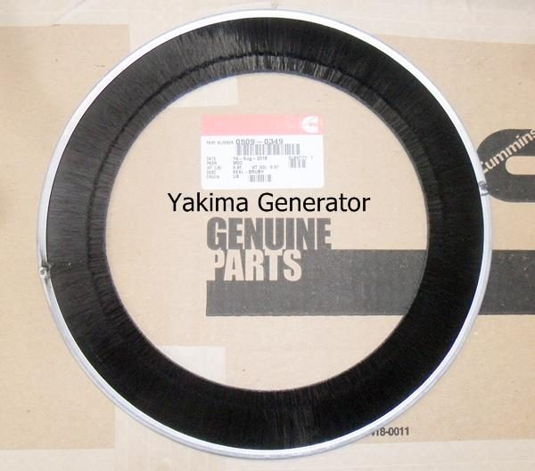 Onan 509-0349 Brush for generators RV QG5500, RVQG 6500, RVQG 7000 Onan Generators