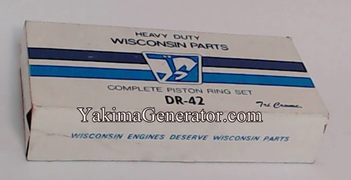 DR42 Wisconsin Engine Rings