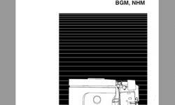BGN, NHM Service manual
