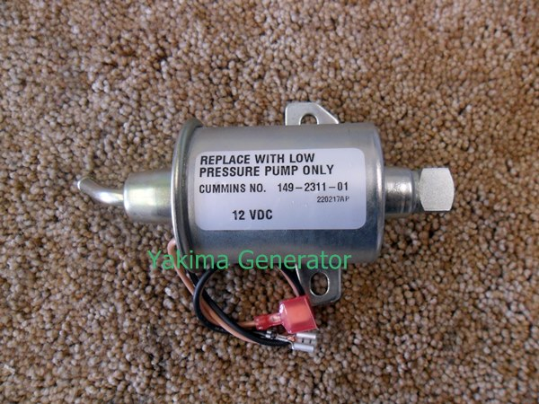 Onan fuel pump QG RV 4000