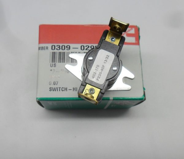 309-0295 hi temp switch onan