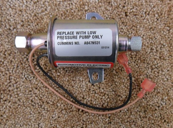 A047n931, onan fuel pump QD