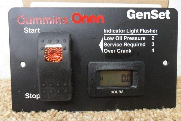 Onan Generator Start / Stop switch