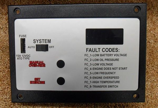 Briggs control panel 311353GS