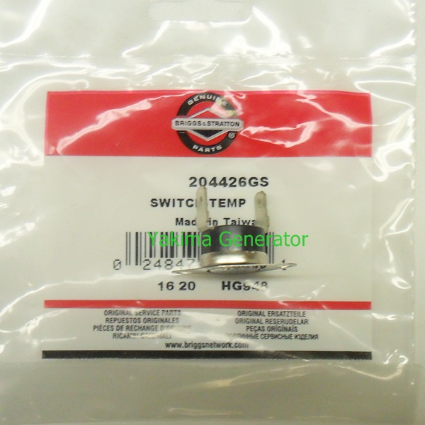Briggs Temp switch 204426GS