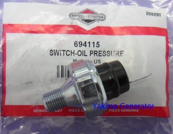 Briggs low oil pressure switch 694115