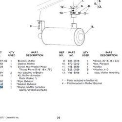 RV muffler clamp 155-1256