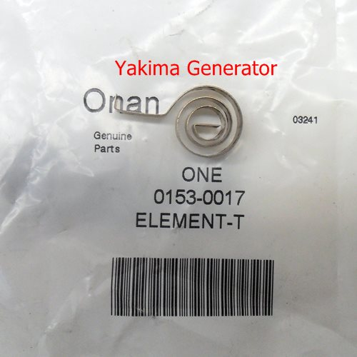 Onan Choke element 153-0017