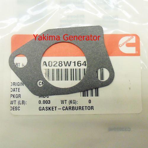 Onan A028W164 Carburetor Gasket