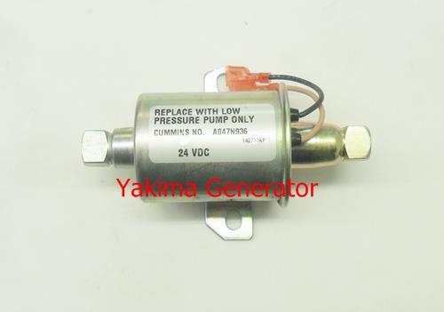 24 volt onan fuel pump A047n936