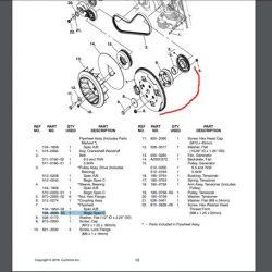 Cummins Onan Flywheel RV QG 5500 104-2000-S0