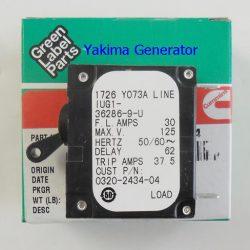 Onan RV QG 4000, 30amp Circuit breaker 320-2434-04