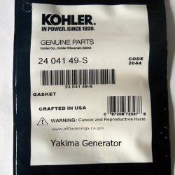 Gasket Exhaust Kohler 24 041 49-S Gasket Exhaust for Kohler Generators and Engines