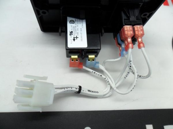 Cummins Onan RV QD remote panel 300-4943