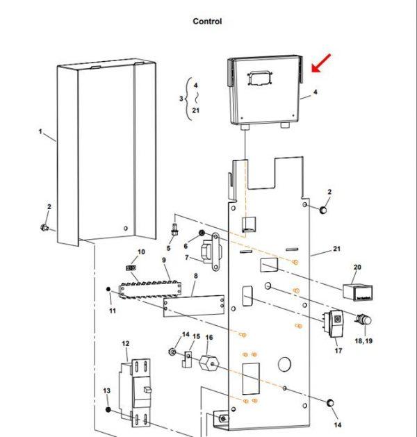 Cummins Onan 327-1576 Controller