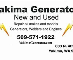 Yakima Generator your parts source for Cummins Onan Kohler, Generac.