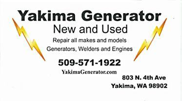 Yakima Generator your parts source for Cummins Onan Kohler, Generac.