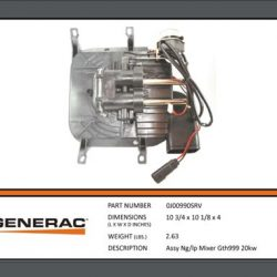 Generac 20 KW mixer with stepper motor OJ00990SRV