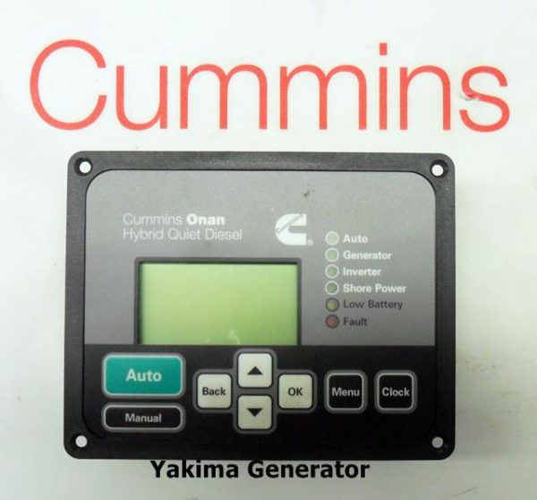 Cummins Onan Hybrid Quiet diesel Remote Panel 300-6078