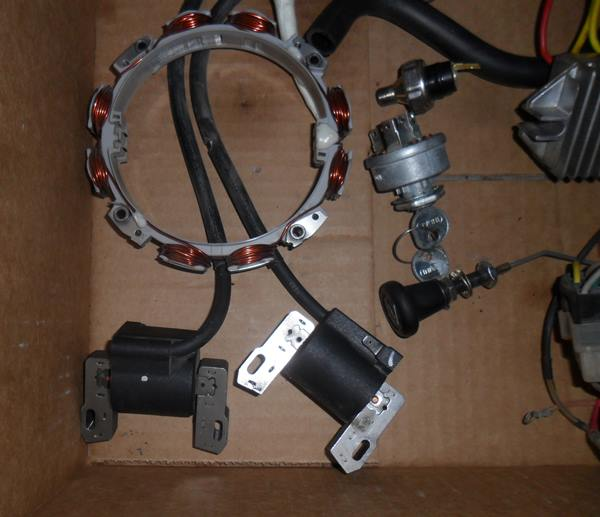 Briggs Vanguard 31hp Parts, Carb, Coil, VR