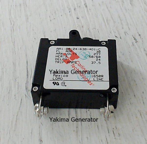 Generac Circuit breaker 30 amp 37.5 trip amp, G090145