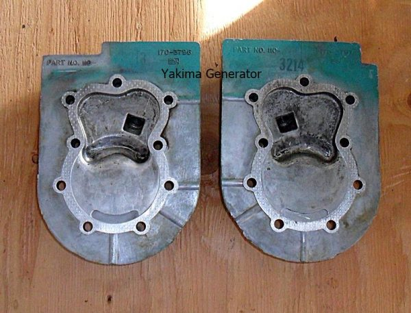 Onan B43E Cylinder Heads #1 and #2