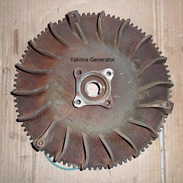 Flywheel for a B43M Onan Spec A-C Engine.