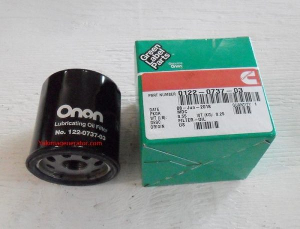 Onan Oil Filter for the P220ohv engine 122-0737-03