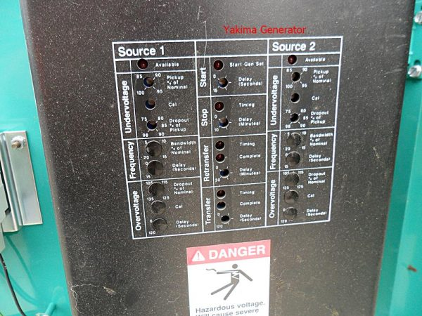 Exercise Box for OT150 Onan Transfer Switch
