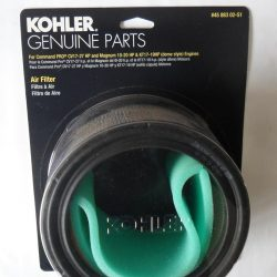 Kohler air filter and pre filter 4588302-s1 Fits Kohler Command pro CV17-27 HP and Kohler Magnum 10-20 HP Engines Fits KT17-19 ( Dome Style ) Kohler engines