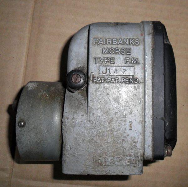 Fairbank Morse FM J1A7 magneto