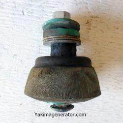 Onan cone shaped generator mounts 402b28