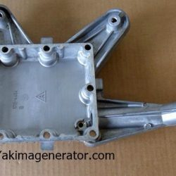 Oil Base for a RV QG 4000, Microlit, Microquiet, generator 4KY oil sump 102-1444 uses the 102-1412 gasket