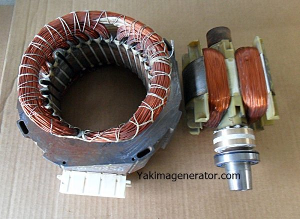 Onan RV QG 4000 Rotor Stator 201-3539-S1, 220-4586-S1