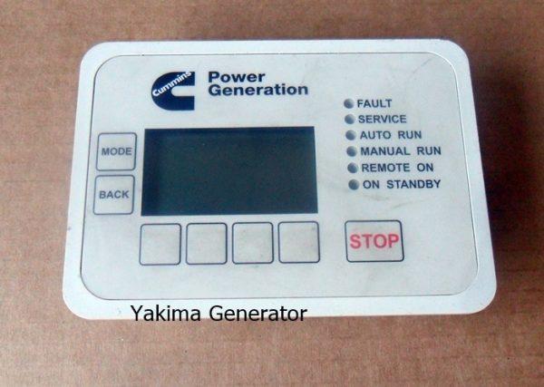 Cummins Generator Control display, fits the RS series generators